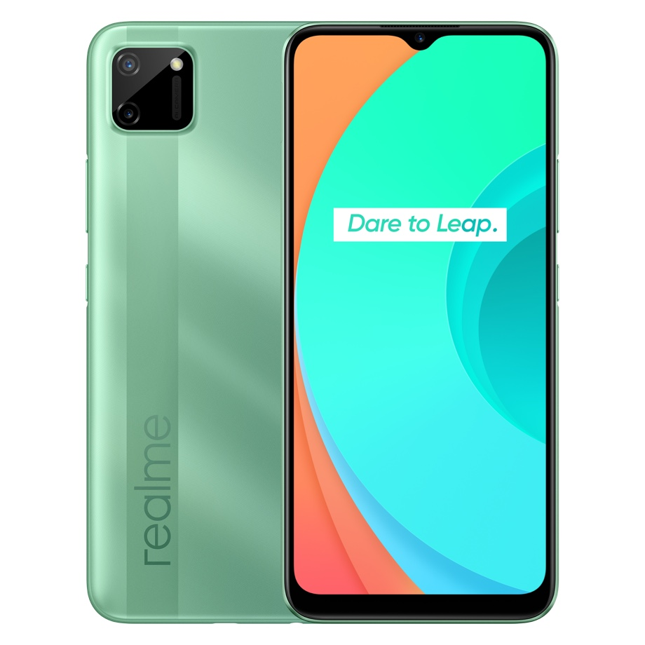 Realme C11 smartphone launched in India along with Realme 30W dart charge power bank